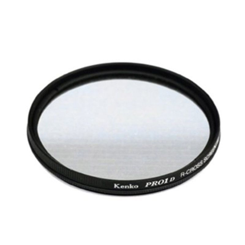 Kenko Pro-1D R-Cross Screen W 62mm Filter Lensa