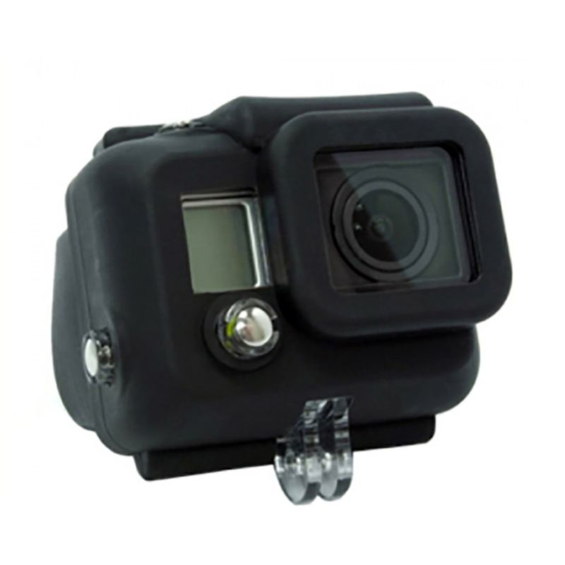 Third Party Hitam Silicon Casing for GoPro Hero 3+