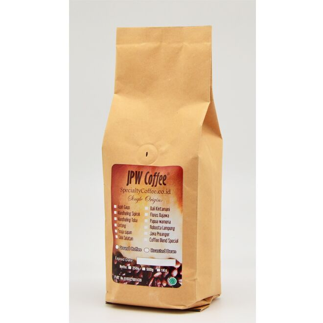 JPW Coffee Specialty Coffee 250 gr Arabica Flores Bajawa Roasted