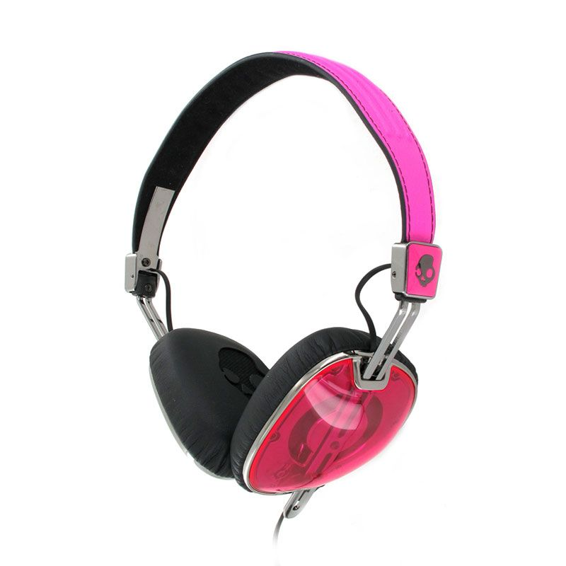Skullcandy Navigator On-Ear W/Mic 3 Hot Pink/Black/Black