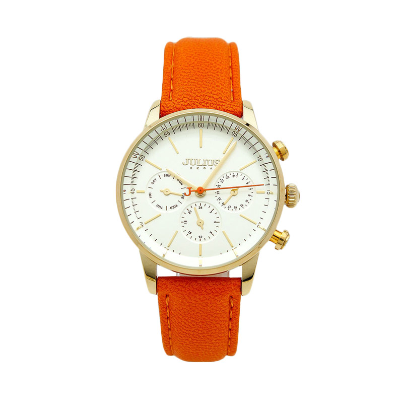 Julius JA-862-B Jam Tangan Wanita - Orange