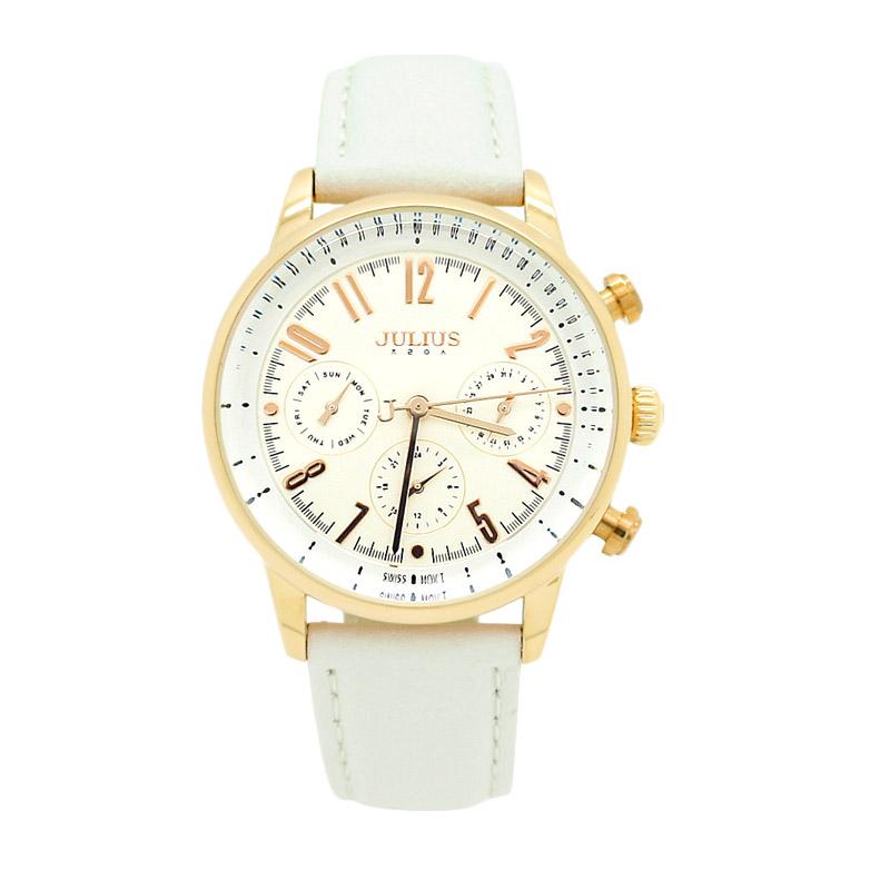Julius JA-870-C Jam Tangan Wanita - Putih