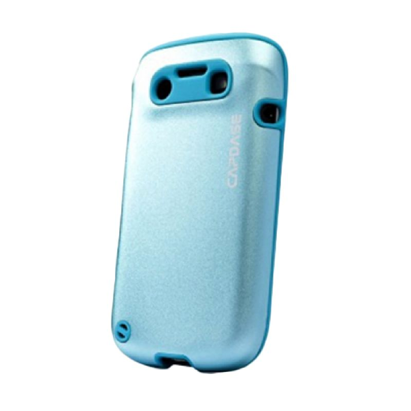 Capdase Alumor Metal Blue Casing for Blackberry 9790 or BELAGIO