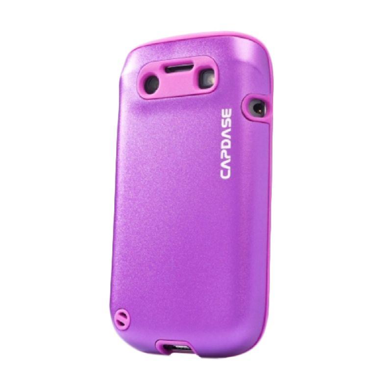 Capdase Alumor Metal Purple Casing for Blackberry 9790 or BELAGIO