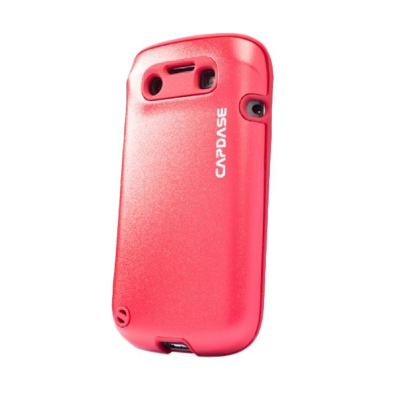 Capdase Alumor Metal Red Casing for Blackberry 9790 or BELAGIO