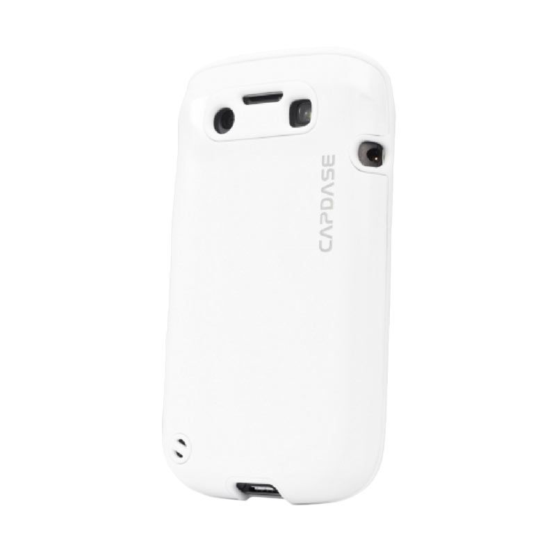 Capdase Alumor Metal White Casing for Blackberry 9790 or BELAGIO