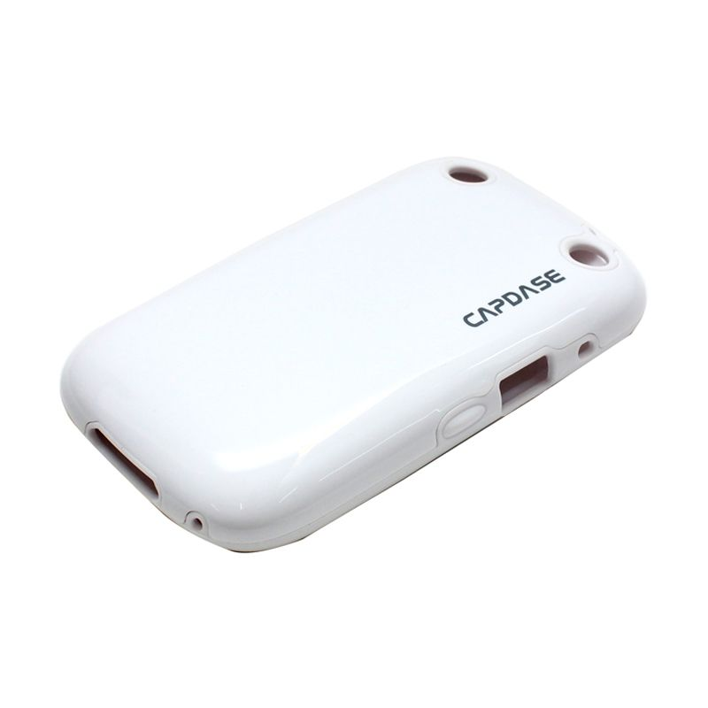 Capdase Polimor White Casing for Blackberry 9220/9320/Davis/Orlando