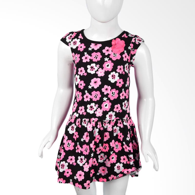 Jumping Beans BO 520 Flower Pink Dress Anak