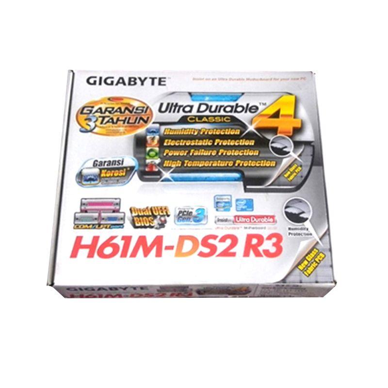 GIGABYTE H61-MDS2 R3 Motherboard