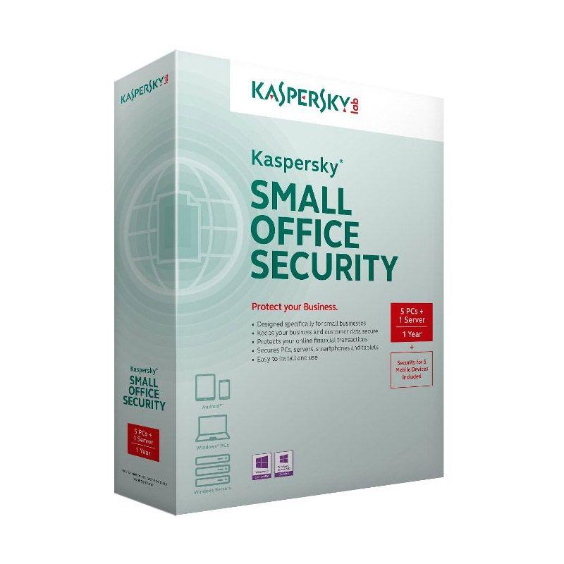 Kaspersky Small Office Security Anti Virus [1 Server/5 PC]