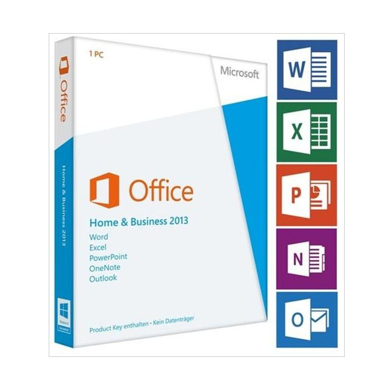 Microsoft Office Home and Bussines 2013 Software Resmi