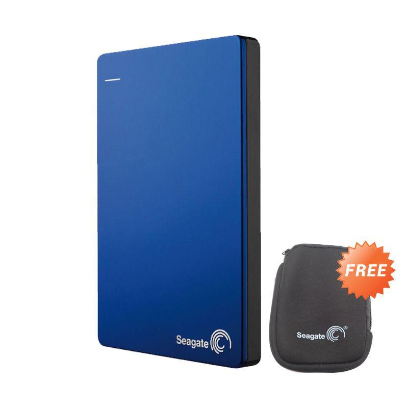 Seagate Backup Plus Slim 1TB Blue 2.5inc Free Softcase