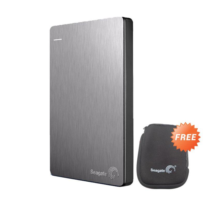 Seagate Backup Plus Slim 2TB Silver 2.5inc