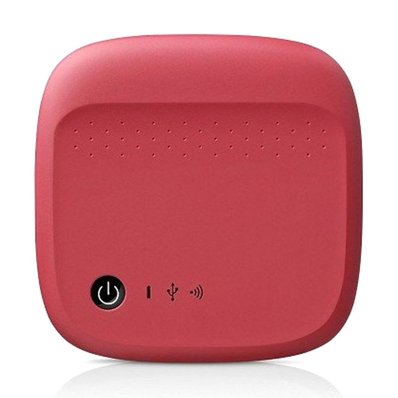 Seagate Expand Mobile Storage Red Wireless Hard Disk