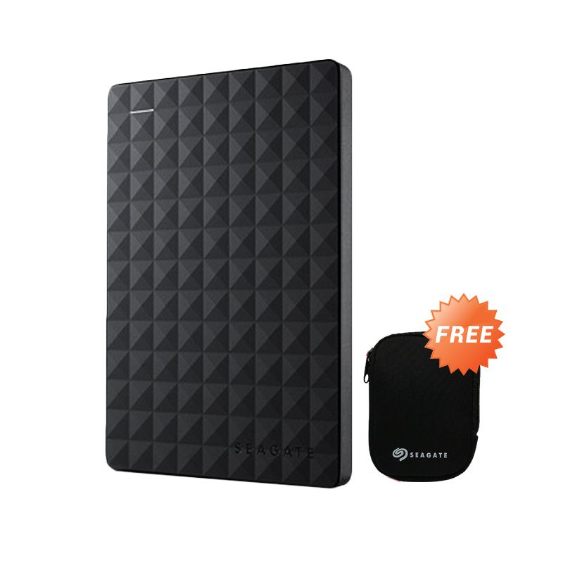 Seagate Expansion Portable 500GB New Black 2.5inc free softcase