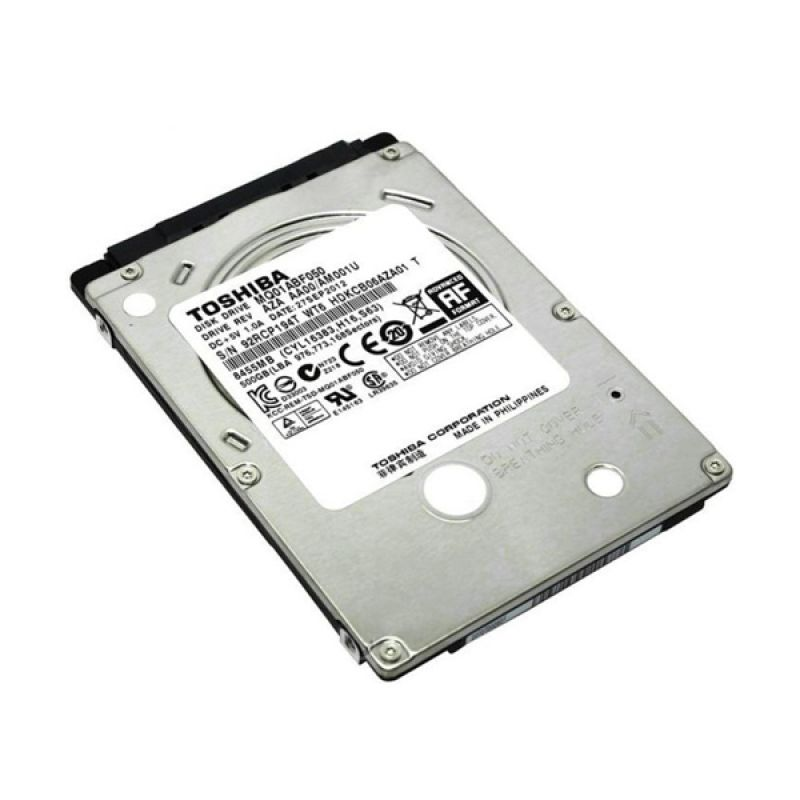 Toshiba 500 GB Hard Disk Internal for Notebook [2.5 Inch]