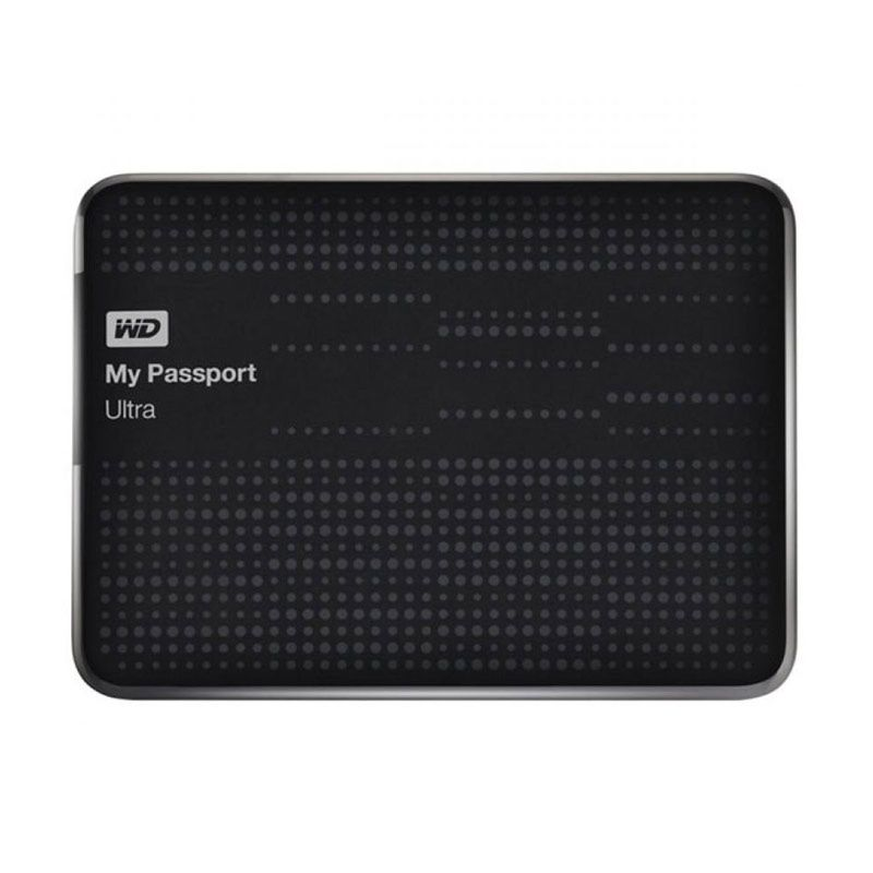 WD My Passport Ultra Black Hard Disk Eksternal [ 2 TB]