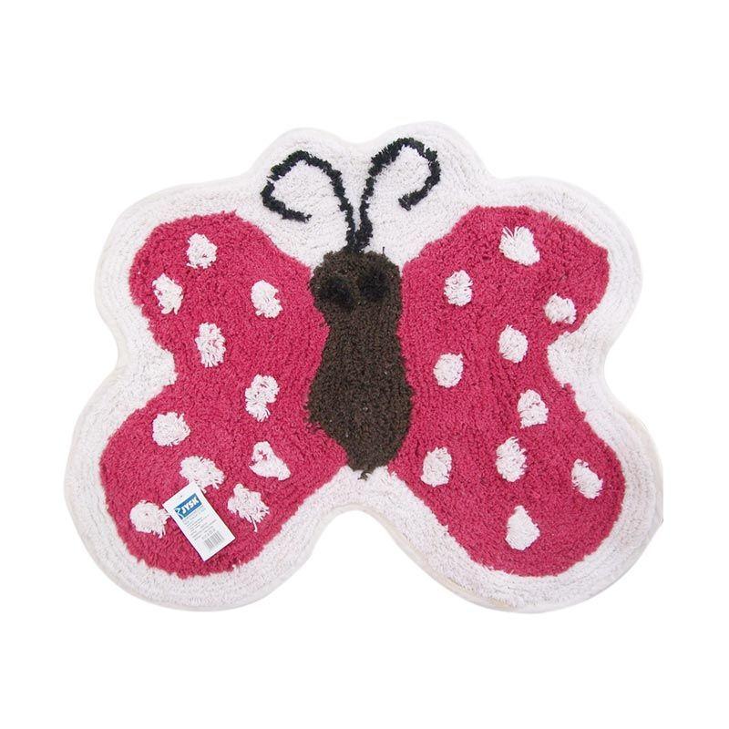 JYSK Butterfly Bathmats Keset