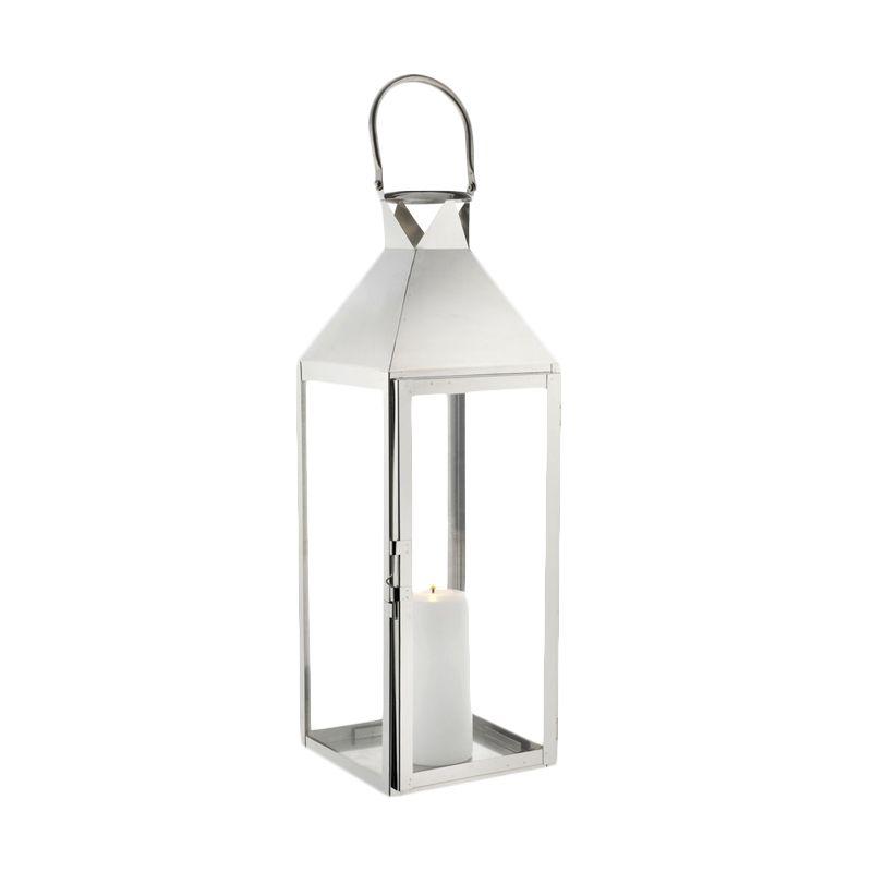 JYSK Lantern Larisa Tempat Lilin [20x21x61cm]