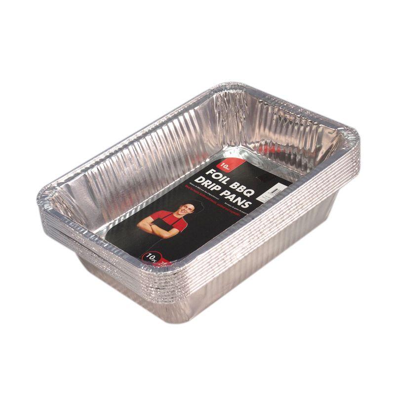 JYSK Silver Foil Oil Drip Pan Peralatan Masak [10 pcs]