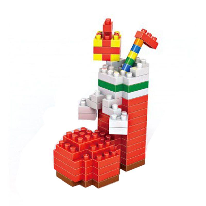 Loz Christmas Stocking 9124 Diamond Mainan Blok dan Puzzle [Medium]
