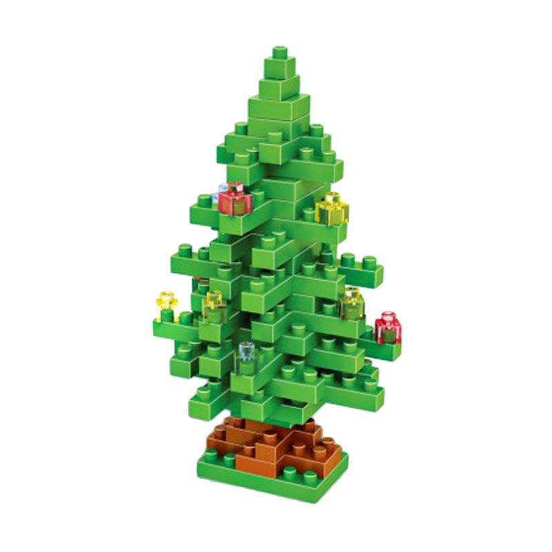 Loz Christmas Tree 9123 Diamond Mainan Blok dan Puzzle [Medium]
