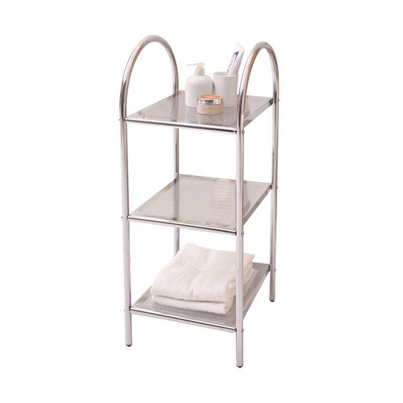 harga JYSK Trolley Langholm 3 Shelves Metal Shelf Rak Serbaguna Blibli.com
