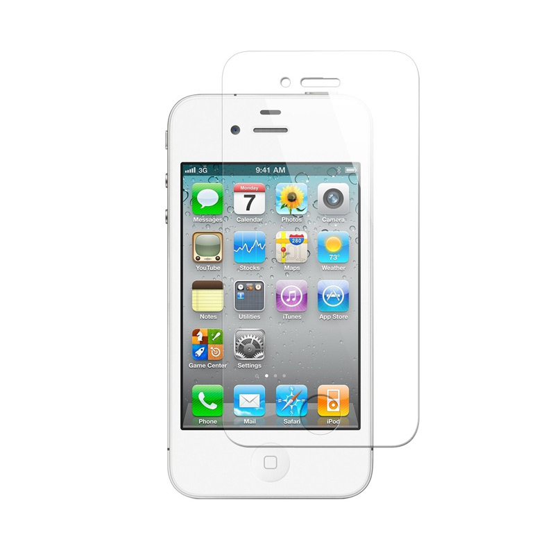 K-Box Tempered Glass Screen Protector for iPhone 4