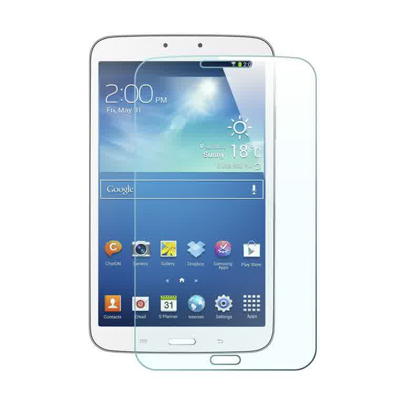 K-Box Tempered Glass Screen Protector for Samsung TAB 3 [8 Inch]