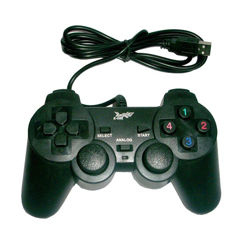 K-One Black Gamepad Single Getar USB