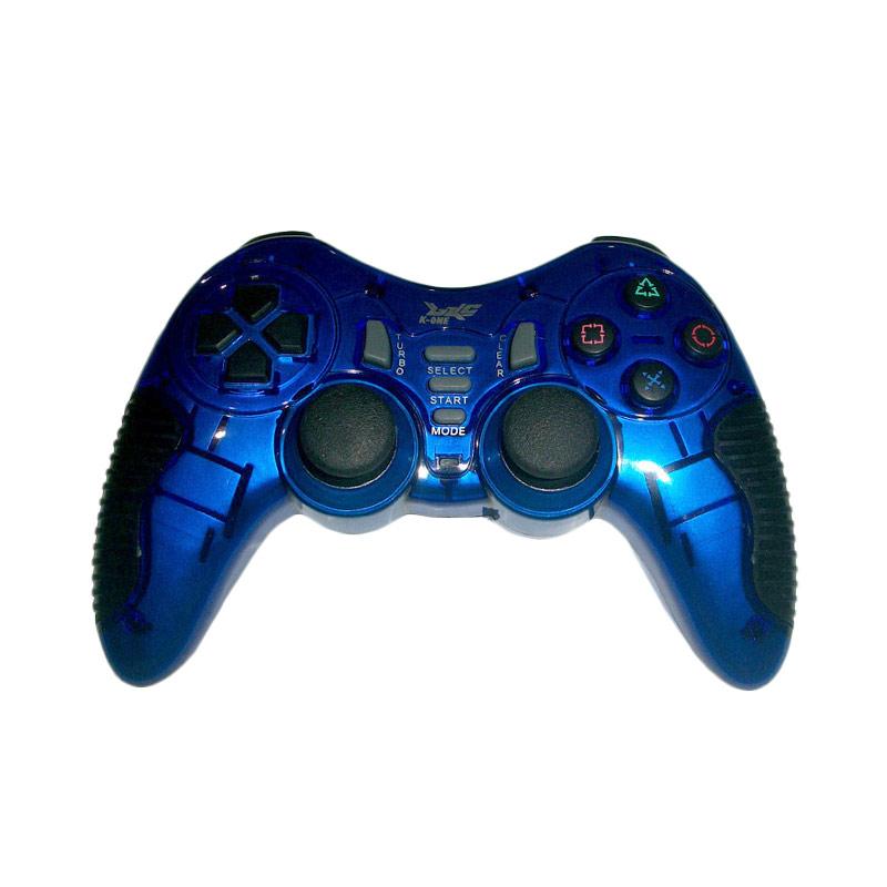 K-One Single Wireless Turbo Gamepad - Blue