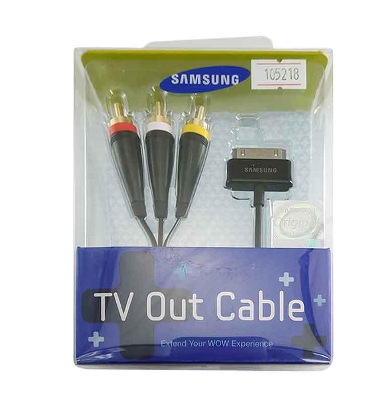 harga Samsung Original TV Out Cable for Galaxy Tab - Hitam Blibli.com