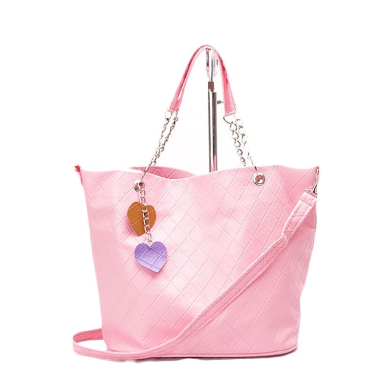 Kadomikado Shafiya Soft Pink Tas Tangan