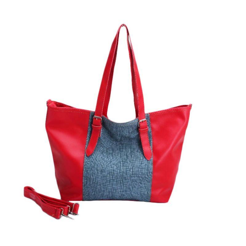 Kadomikado Tiara Merah Biru Tas Wanita