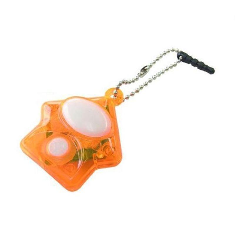 Kadounik Baketan Ghost Radar Ball Chain Orange Earphone Jack Plug