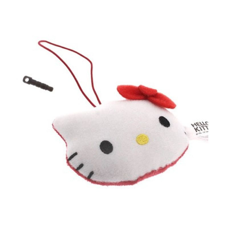 Kadounik Famous Characters Hello Kitty Cleaner Earphone Jack Plug