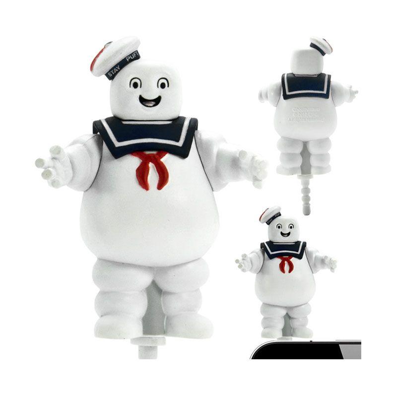 Kadounik Ghostbuster Marshmallowman Smile Earphone Plug