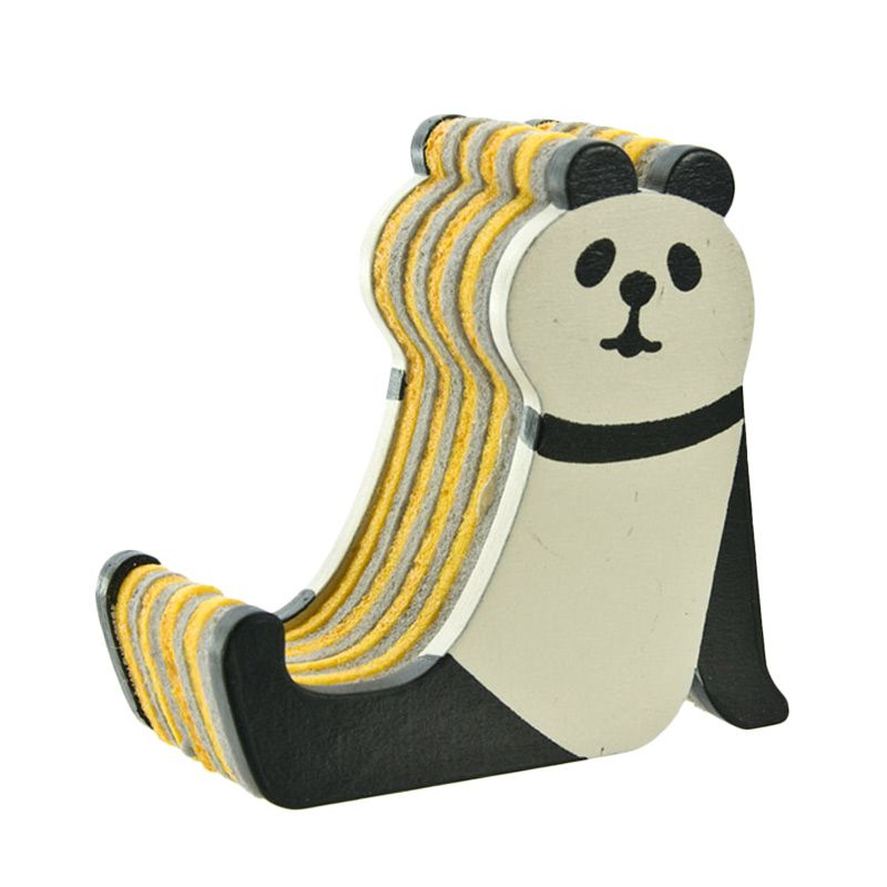 Kadounik Graphic Concombre Icelands Panda Smartphone Stand