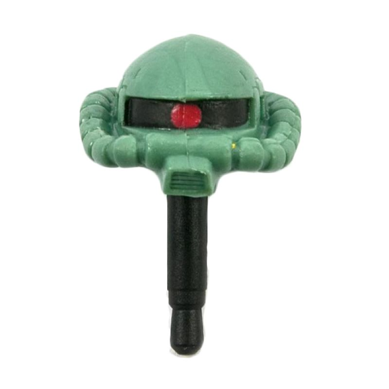Kadounik Gundam Mobile Suits Gundam Zaku 2 Earphone Jack Plug Cover