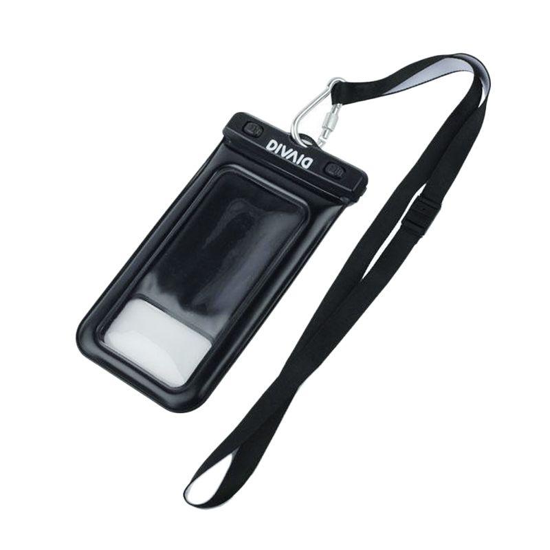 Kadounik Hamee Original DIVAID Floating Black Waterproof Pouch for Smartphone