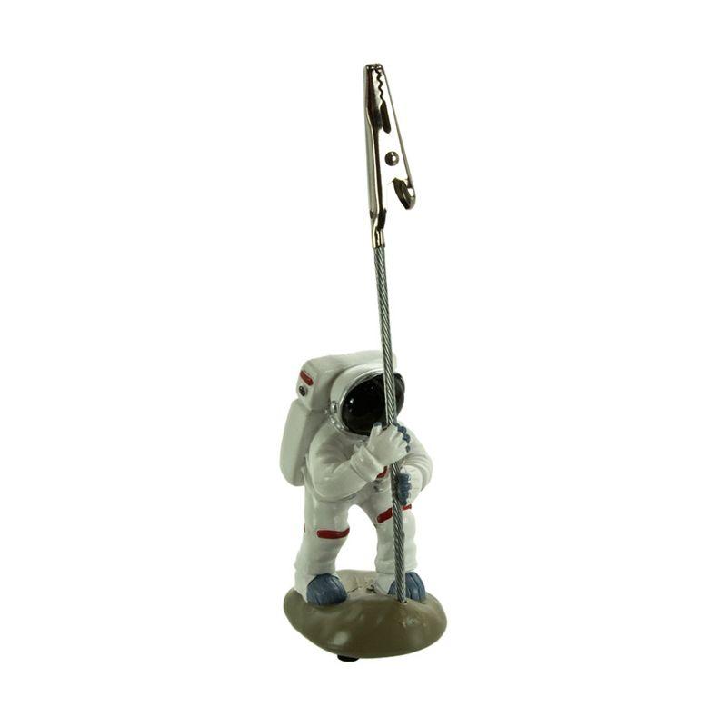 KadoUnik Motif Astronaut Figure Desk Accessories Memo Holder