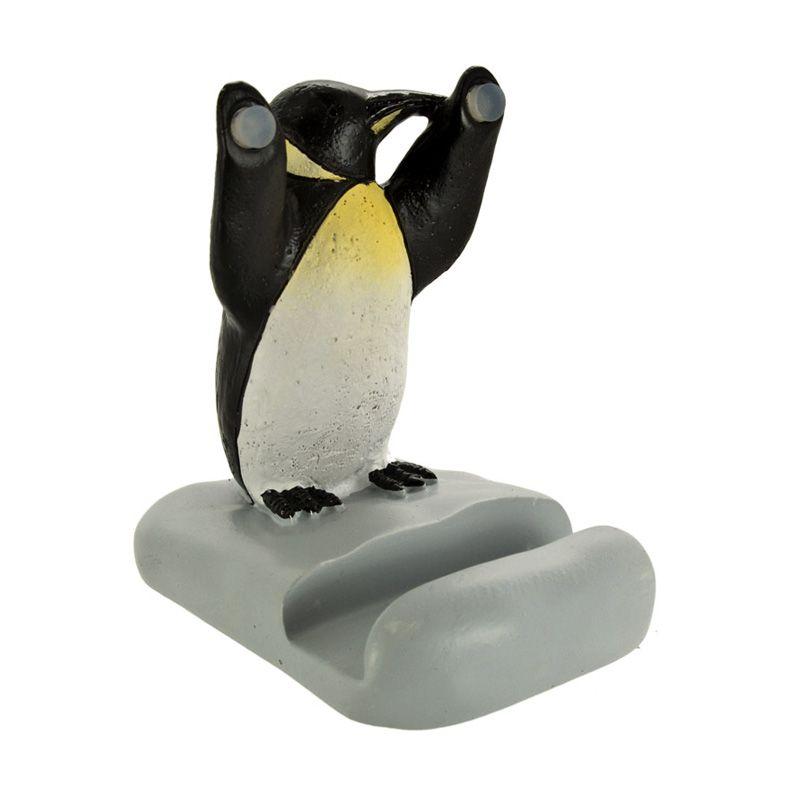 KadoUnik Motif Various Figures Penguin 2 Smartphone Stand