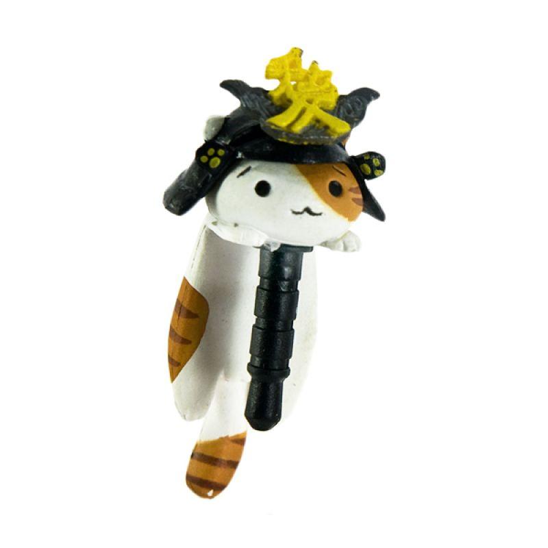 KadoUnik Niconico Nekomura Cat Samurai Edition Naoe Kanetsugu Penutup Lubang Earphone