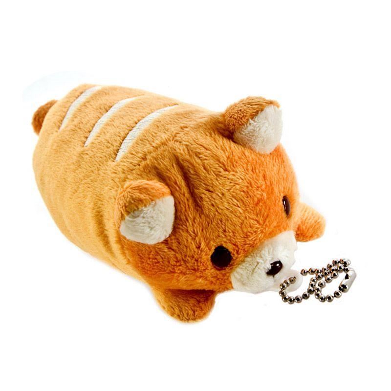 Kadounik Pan de Pet Animal Bread Stuffed Toy Ball Chain Coppe Corgie Gantungan Handphone