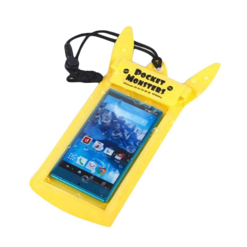 Kadounik Pokemon Pocket Monsters Pikachu Waterproof Pouch for Smartphone