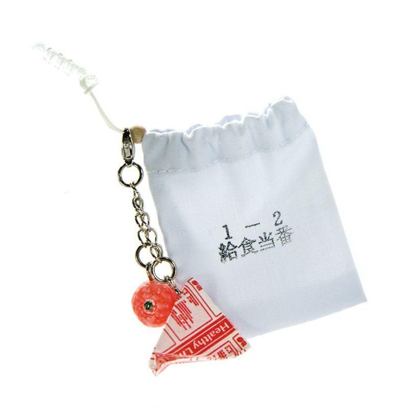 Kadounik Retro Japan Collection Milk Pack & Lunch Box Earphone Jack Plug Cover