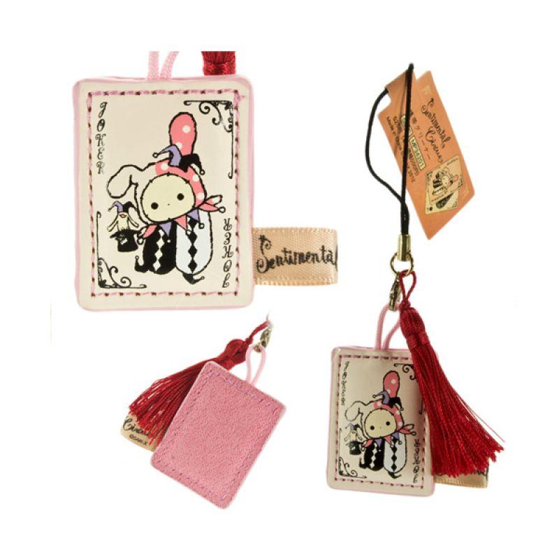Kadounik San-X Sentimental Circus Cleaner Shappo Pink Gantungan Handphone