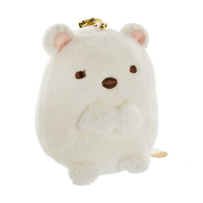 Kadounik San-X Sumikko Gurashi Plush Bear Doll White Gantungan Handphone