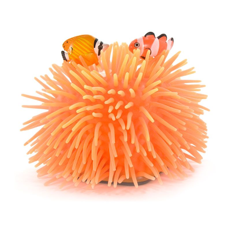 Kadounik Sea Anemone Healing Toys Orange Mainan Anak
