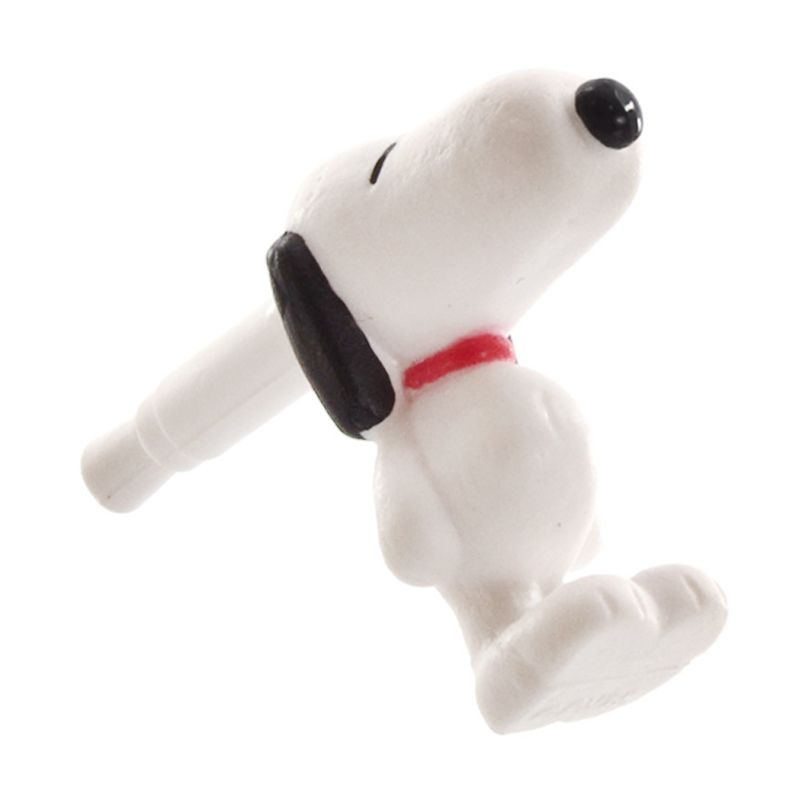 Kadounik Snoopy Charapin Earphone Jack Accessories [Supine]